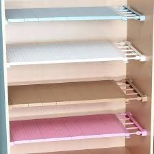 shelf closet organizer adjule closet organizer storage shelf wall mounted kitchen rack space saving wardrobe decorative