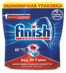 <b>Finish</b> All in 1 Max <b>таблетки</b> (original) для посудомоечной машины ...
