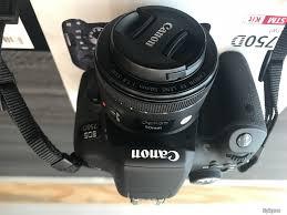 Canon 750D + Canon EF 50mm f/1.8 like new + Thẻ nhớ 32GB - TP.Hồ Chí Minh -  Five.vn