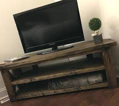 wood media center with fireplace
