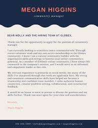 Cover Letter Social Media Executive Tomyumtumweb Com