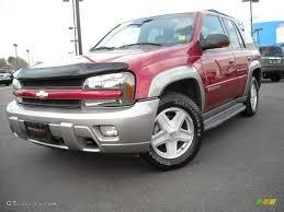2003 Majestic Red Metallic Chevrolet TrailBlazer LTZ 4x4 #4659914 ...