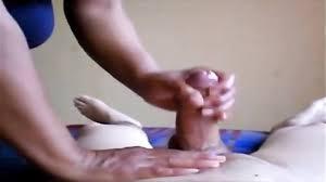 Handjob massage video table shower