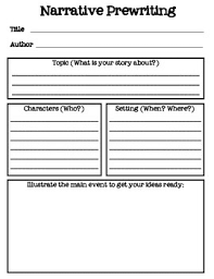 narrative prewriting story map bie printable pre writing narrative prewriting story map bie printable pre writing graphic organizer for fiction or narrative story