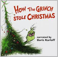 how the grinch stole christmas book cover. Unique Christmas Boris Karloff  How The Grinch Stole Christmas 1966 TV Film Amazoncom  Music And Book Cover