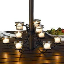 diy best patio table umbrella home decor lights target image holder outdoor for depot led