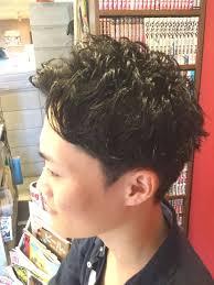 メンズ髪型 インフィニィト 板宿店 On Twitter 癖毛を活かしたパーマ風