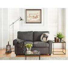 office futon. Faux Leather Twin Bed Sleeper Sofa Futon Gray Soft Durable Office Den Guest