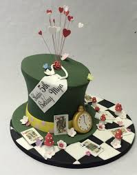 Mad Hatter Cake Designs Mad Hatter Cakes Celebration Cakes Classic Style Easy