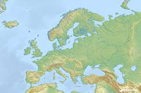 free physical maps of europe mapswire com best blank map