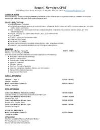 Pharmacy Technician Resume Mesmerizing CPhT Pharmacy Technician Resume 40 Renee Newpher
