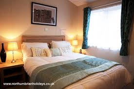 Lodge Bedroom Woodys Lodge Superior 3 Bedroom Property Northumbrian Holidays