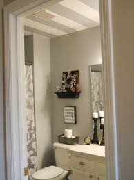 Type of paint for bathrooms Finish Interior What Kind Of Paint For Bathroom Ceiling Brilliant Dip Toe Into Bold Color 7stanesinfo What Kind Of Paint For Bathroom Ceiling Attractive Striped Hometalk