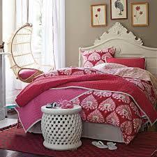 Bedroom:Red Pink Fairytale Unique Headboard Contemporary Teen Girl Bedroom  Idea Amazing Pink Girls Bedroom