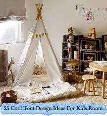 25 Cool Tent Design Ideas For Kids Room. photo credit to homedit