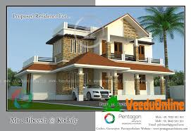 Small Picture Beautiful Kerala Double Floor House Plan 1600 Sq Ft