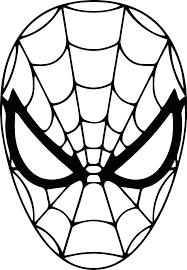 Spiderman Template Spiderman Printout Imscott Co