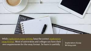 drafting an exploratory essay for university exploratory essay writing com 11