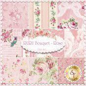 179 best Quilt Gate Fabrics Rose patterns images on Pinterest ... & RURU Bouquet 10 FQ Set - Pink By Quilt Gate Fabrics Adamdwight.com