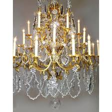 bronze crystal chandelier french century xv style gilt bronze crystal chandelier baccarat for bronze crystal