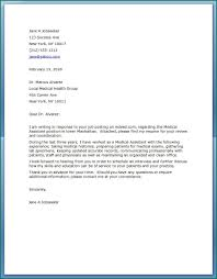 Cover Letter Examples For Medical Assistant Medical Assistant Cover Letter Examples Medical Assistant