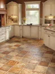 Rustic Kitchen Flooring Design Cozy Design Of The Kitchen Areas With White Wooden Rustic