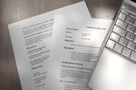 Academic Curriculum Vitae Cv Example And Writing Tips
