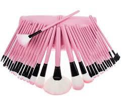 makeup brushes set professional soft cosmetic eyebrow shadow nylon wool bristle cosmetic bursh tool kit bag makeup brushes set makeup kits from daily