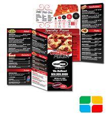 Togo Menu Templates Pizza To Go Menus Design And Print Templates