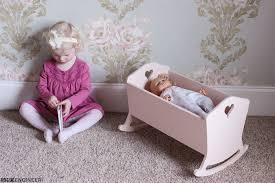 american girl doll cradle