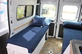 cargovan conversion greenrv beds