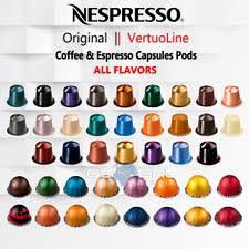 Nespresso Capsules Flavors Chart 2019