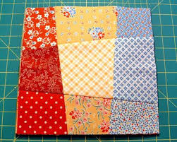 9 patch crazy quilt block tutorial #quilts #sewing | Share Your ... & 9 patch crazy quilt block tutorial #quilts #sewing | Share Your Craft |  Pinterest | Patches, Fat quarters and Super easy Adamdwight.com