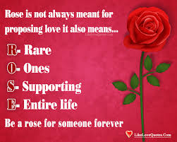 Forever In Love Quotes Impressive Be A Rose For Someone Forever LikeLoveQuotes