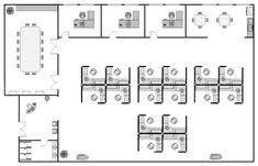Office arrangement layout Travel Agent Office Office Layout Plan Pinterest Highly Efficient Office Layouts Office Office Plan Desk
