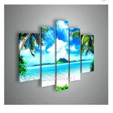 beach themed canvas ideas artwork prints oil