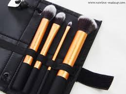 real techniques core collection brush set review indian makeup