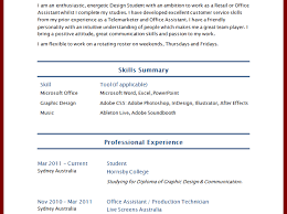 Resume : How To Write A Curriculum Vitae For Students Sample ...