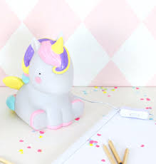 Unicorn Table Lamp Produtos Little Cloud