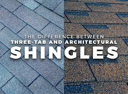 The Difference Between Three Tab And Architectural Shingles