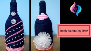 Wine Bottles Decoration Ideas Bottle Decorating Ideas Diy Empty Wine Bottle Decoration Ideas 87