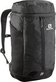 salomon contour 20 backpack black hiking lugagge salomon shoes official authorized