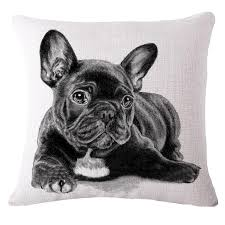 emoji set cushion home decor cushion french bulldog sofa chair