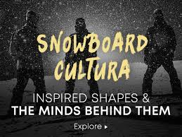 snowboard cultura inspired shapes and the minds behind them explore