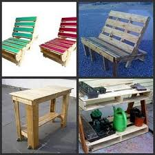 pallets into furniture. Pallets Made Into Misc Furniture . Esp Like The Potting Bench And Relaxing Chairs.