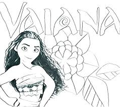 Moana Coloring Pages Free Raovat24hinfo