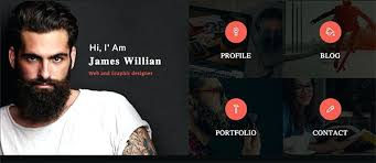 Online Resume Website Enchanting Cv Website Template WordPress My Resume Personal Category Flat