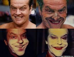 batman joker makeup photo 2