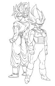 Dessin De Dragon Ball Z Sangokulll