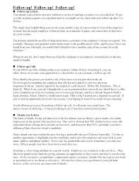 Follow Up Email After Resume Submission Examples Of Follow Up